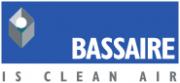 Bassair logo in blue