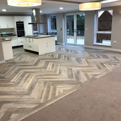 Commercial flooring example
